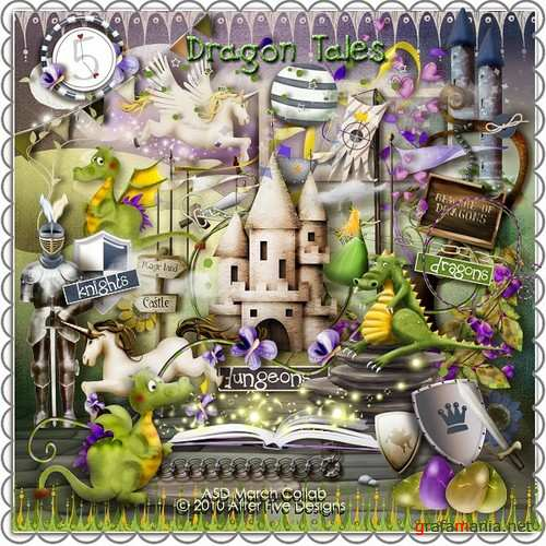 Scrap kit  Dragon Tales