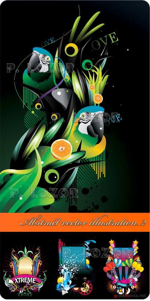 Abstract vector illustration 2
