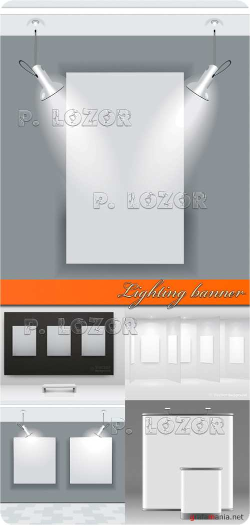 Lighting banner