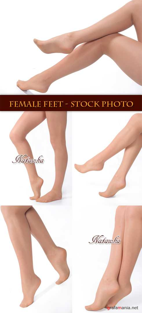 Female feet - Stock Photo