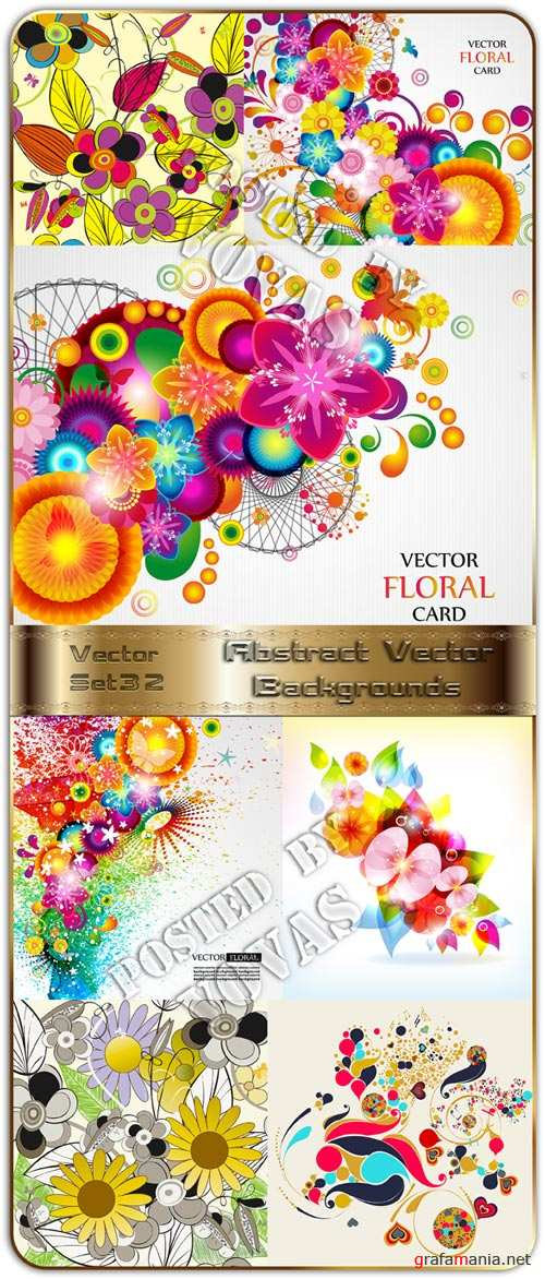 Abstract Vector Backgrounds 32
