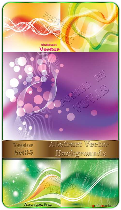 Abstract Vector Backgrounds 35
