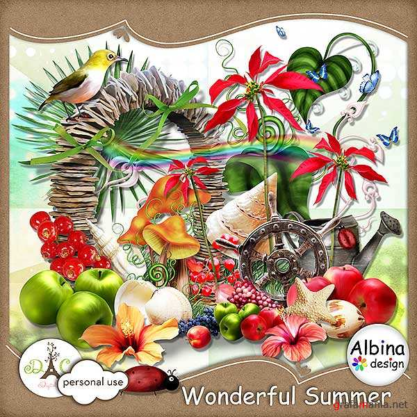 Scrap kit  Wonderful Summer