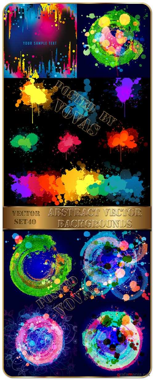 Abstract Vector Backgrounds 40