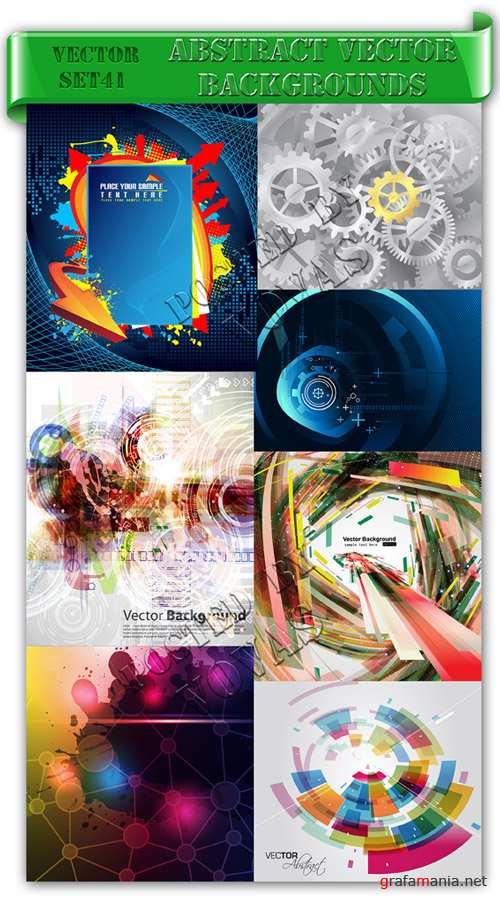 Abstract Vector Backgrounds 41