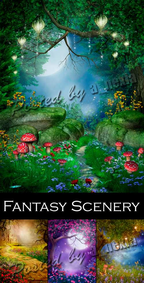 Stock Photo - Fantasy Scenery