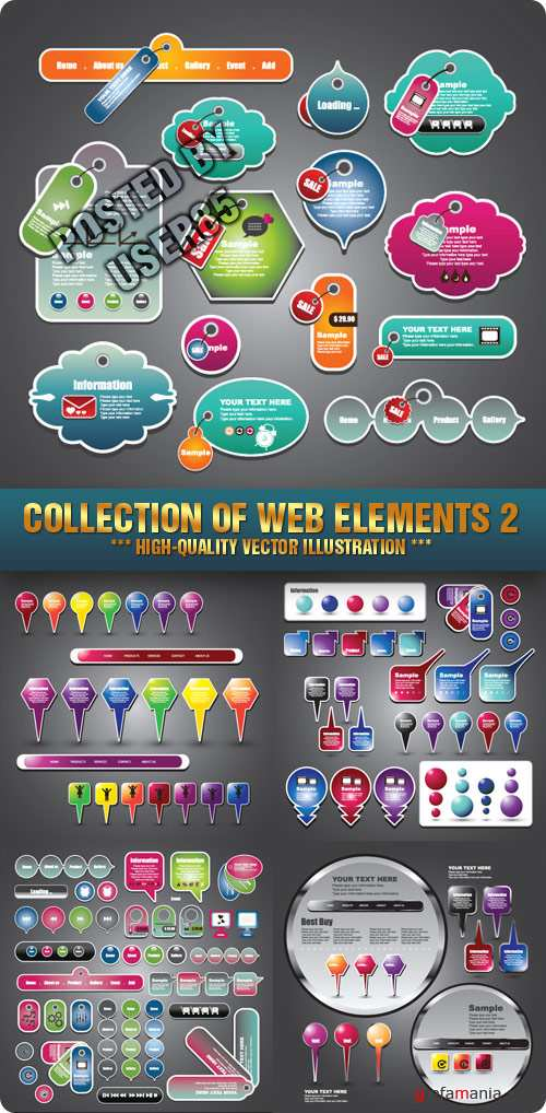 Stock Vector - Collection Of Web Elements 2