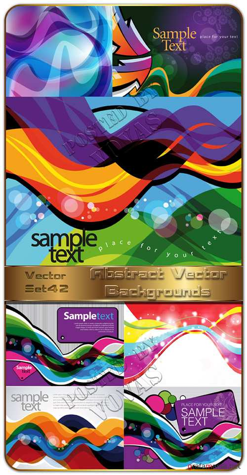 Abstract Vector Backgrounds 42