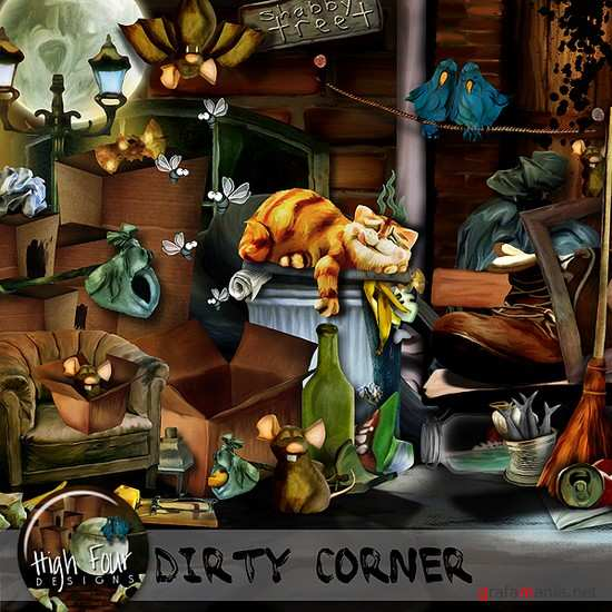 Scrap kit   Dirty Corner