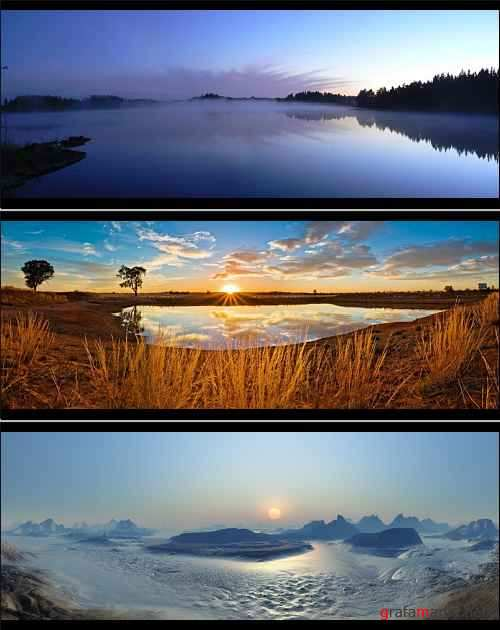 27 Amazing Landscapes Dual Screen Wallpapers