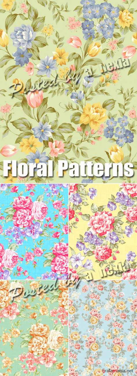 Stock Photo - Floral Patterns