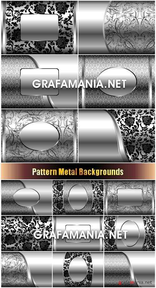 Pattern Metal Backgrounds - Металл, узоры, фон