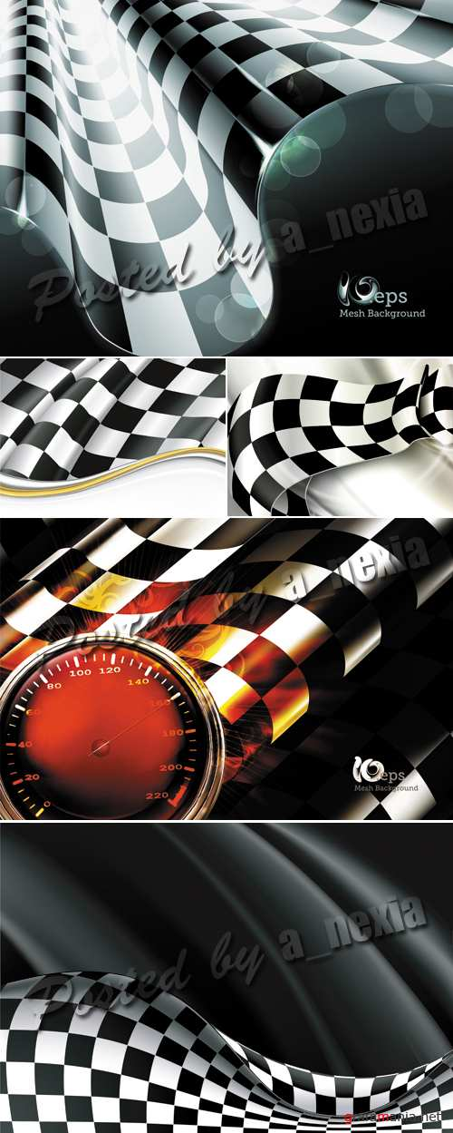 Racing Backgrounds Vector