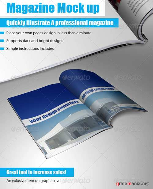 Booklet Mock Up Tool - GraphicRiver