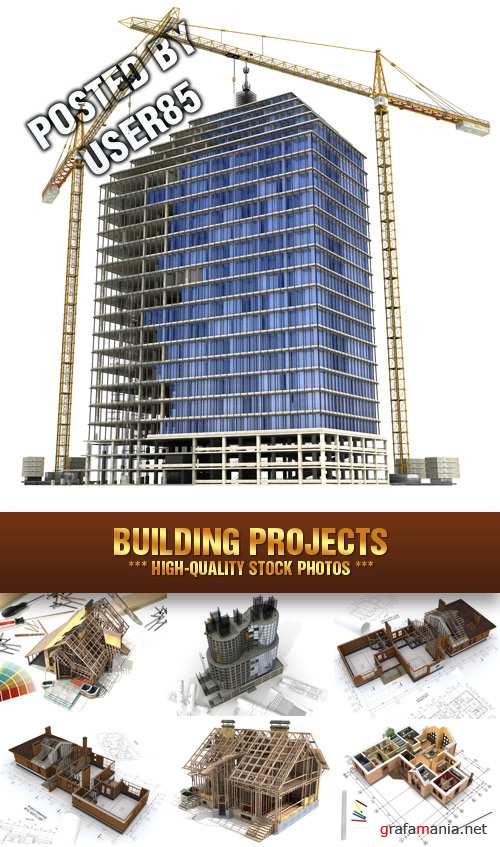 Stock Photo - Building Projects