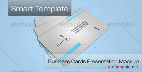 GraphicRiver - Business Card Mockup