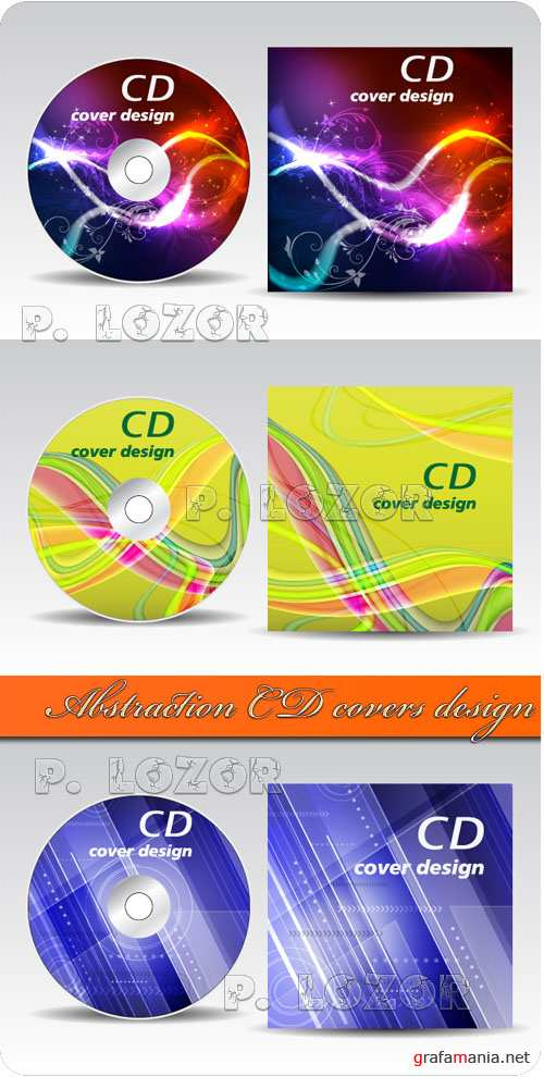 Abstraction CD covers design