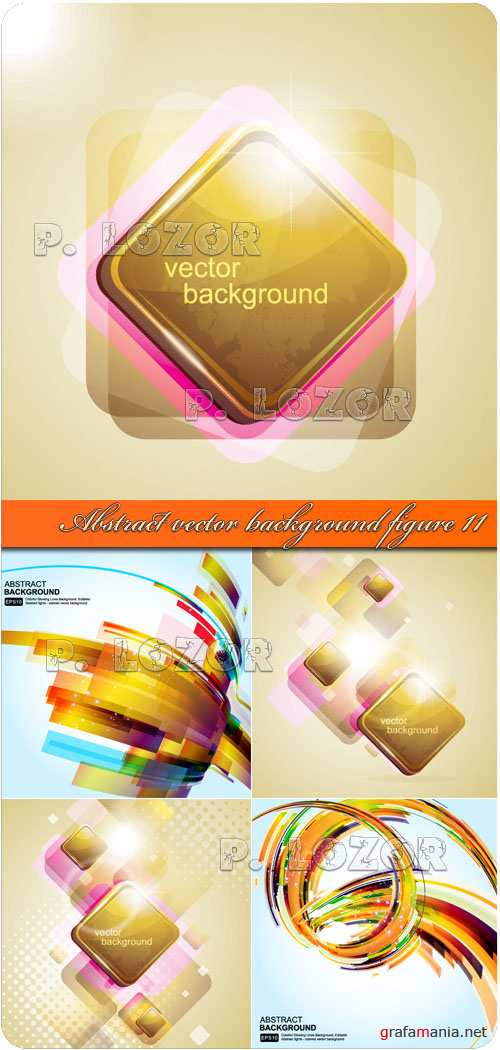 Abstract vector background figure 11