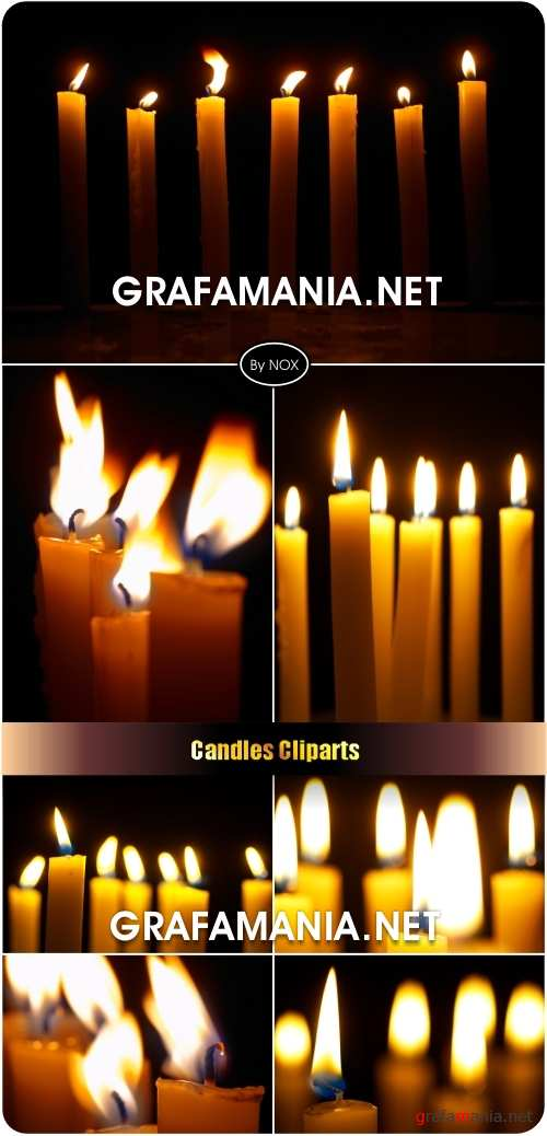 Candles Cliparts - ������� �����