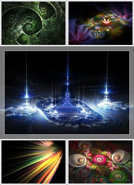 Wallpapers - Best Fractal Pack#23