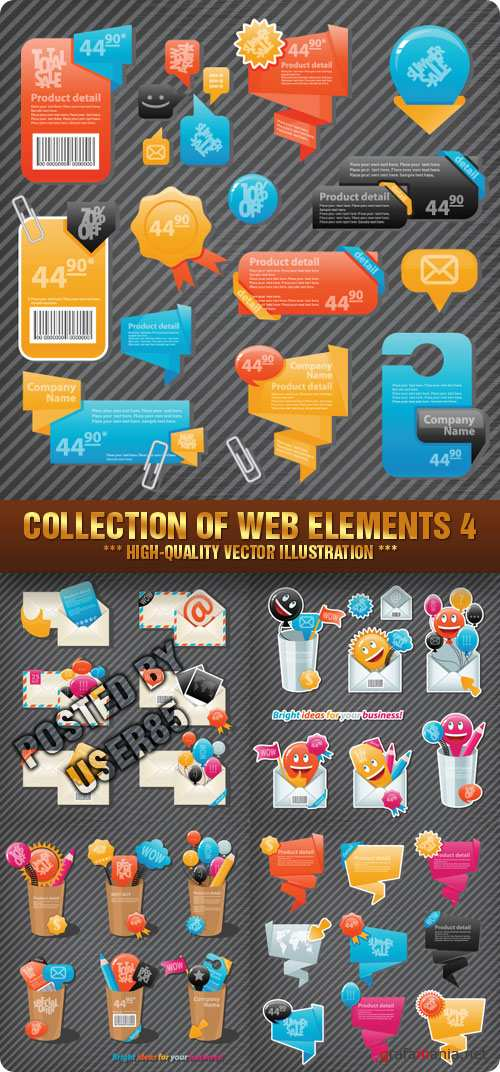 Stock Vector - Collection Of Web Elements 4
