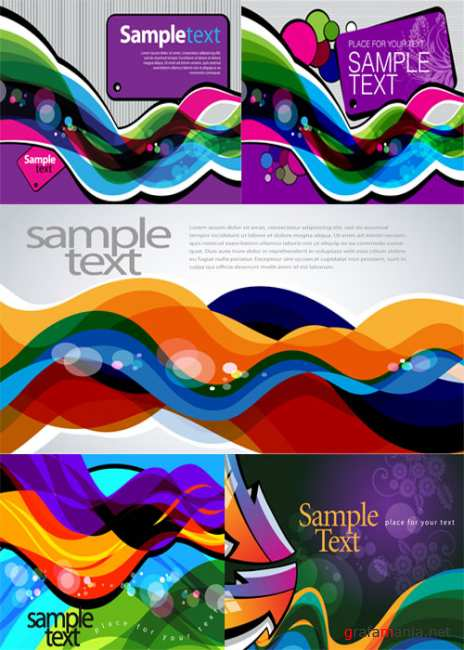 Colorful background illustration