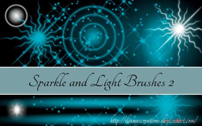 Sparkle and Light Brushes 1+2