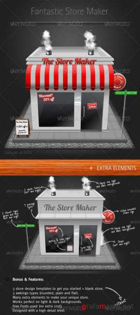 The Store Maker - GraphicRiver