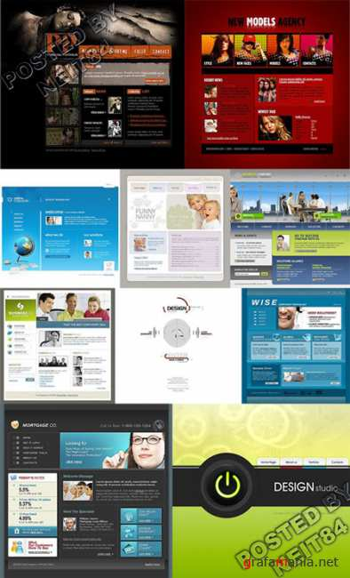 10 Flash Template Website K10 P17