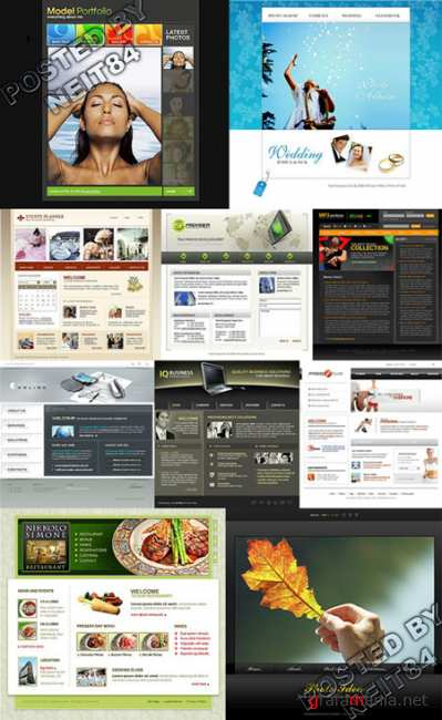 10 Flash Template Website K10 P18