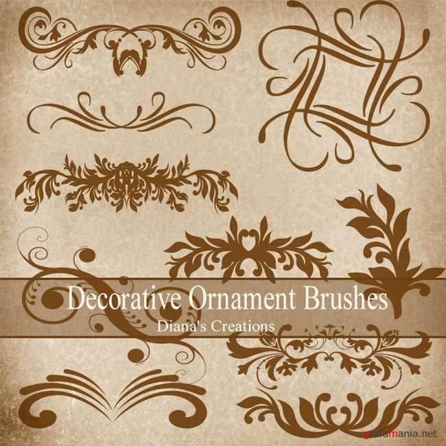 Ornament Brushes