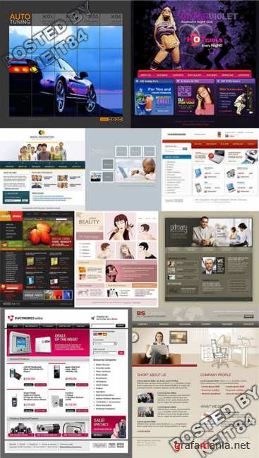 10 Flash Template Website K10 P19