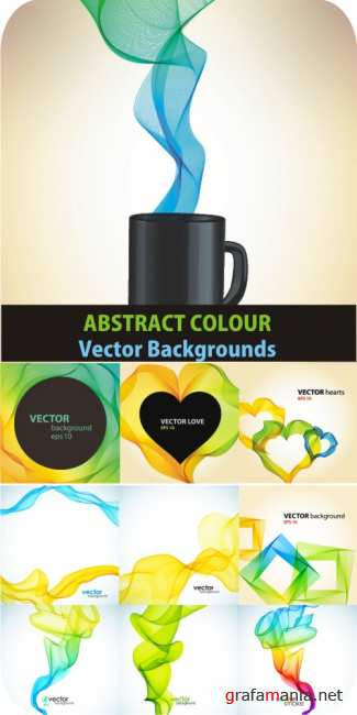 Abstract colour vector bacgrounds