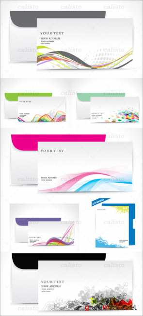 Fine business envelopes