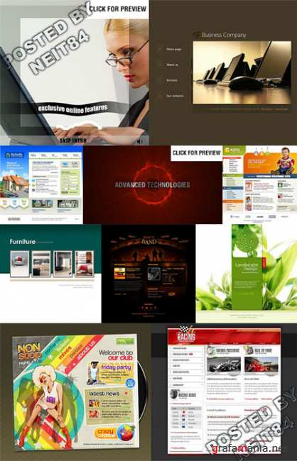 10 Flash Template Website K10 P21