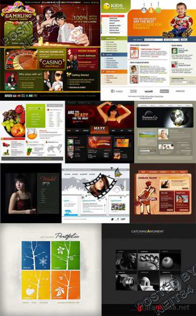 10 Flash Template Website K10 P22