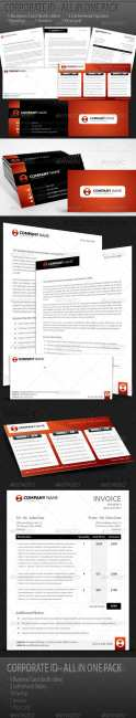 GraphicRiver - Branding Pack - Corporate Identity Kit