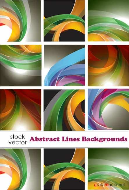 ��������� ������� - Abstract Lines Backgrounds