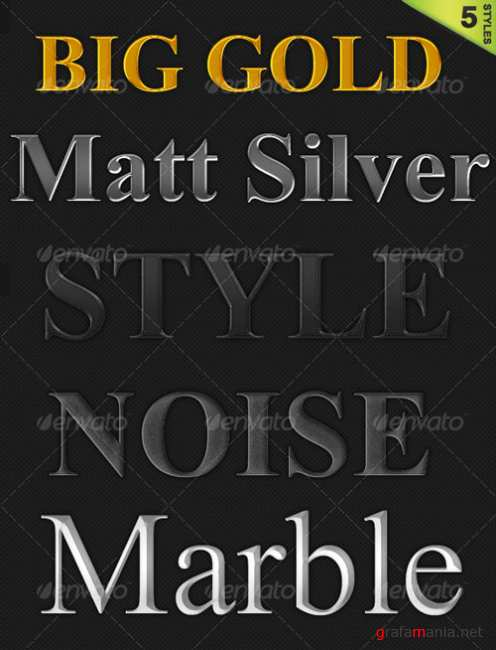 5 Styles Pack - GraphicRiver