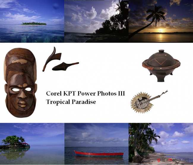 Клипарт - Тропический рай / Corel KPT Power Photos III Tropical Paradise