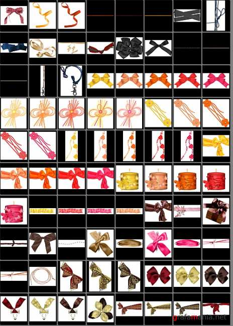 Ribbons for Photoshop Mega Pack. Part two