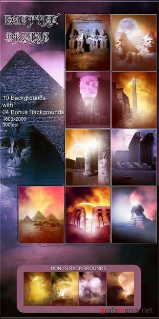 Backgrounds Egyptian Dreams