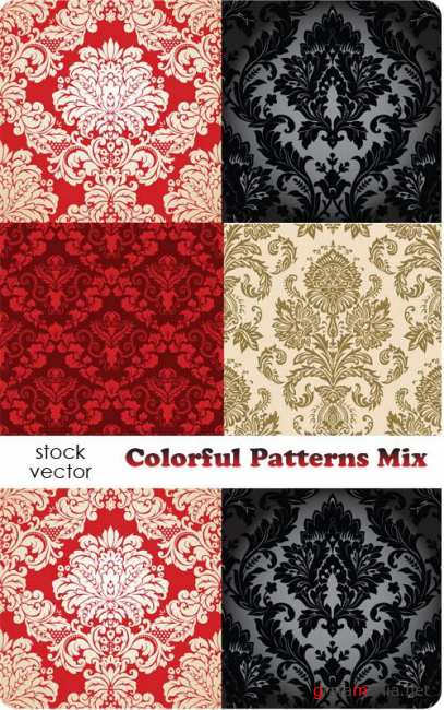 ��������� ������� - Colorful Patterns Mix