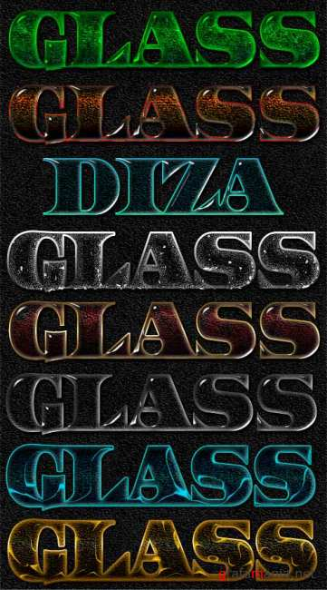Glass styles by DiZa - 2