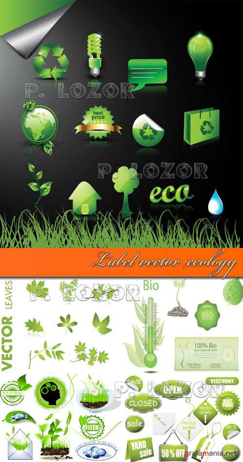 Label vector ecology