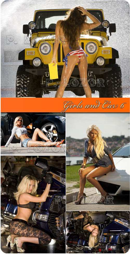 Girls and Car 6