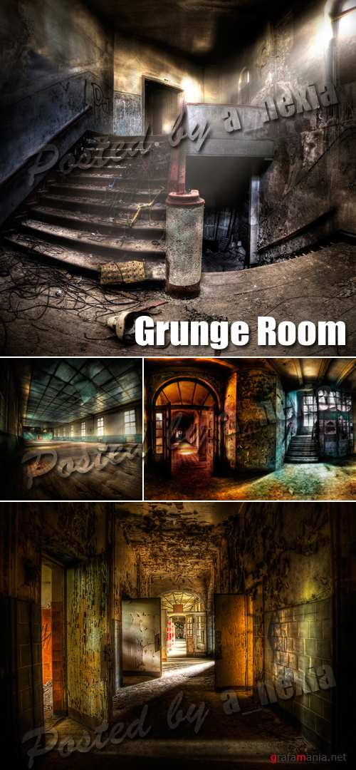 Stock Photo - Grunge Room Interior