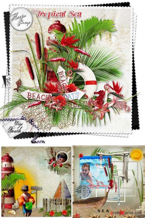 Scrap kit   The Longing For Summer