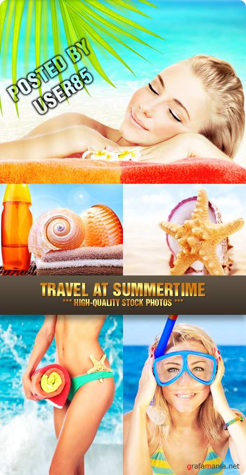 Stock Photo - Travel at Summertime