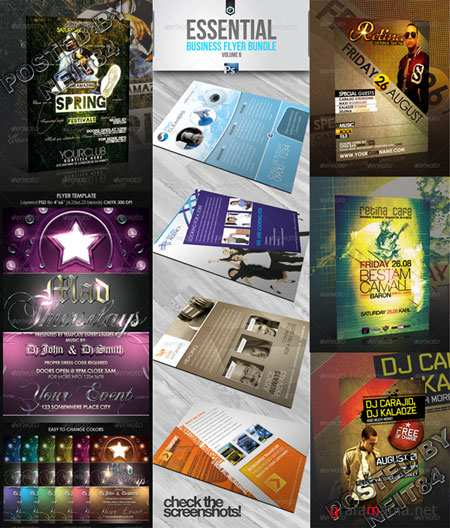 Graphicriver BUNDLE Flyers Templates V19